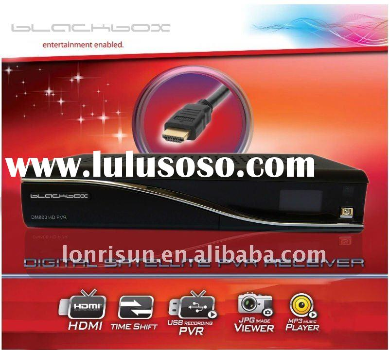 DVB-S2 digital receiver BLACKBOX 800 HD pvr set top box with linux operating system