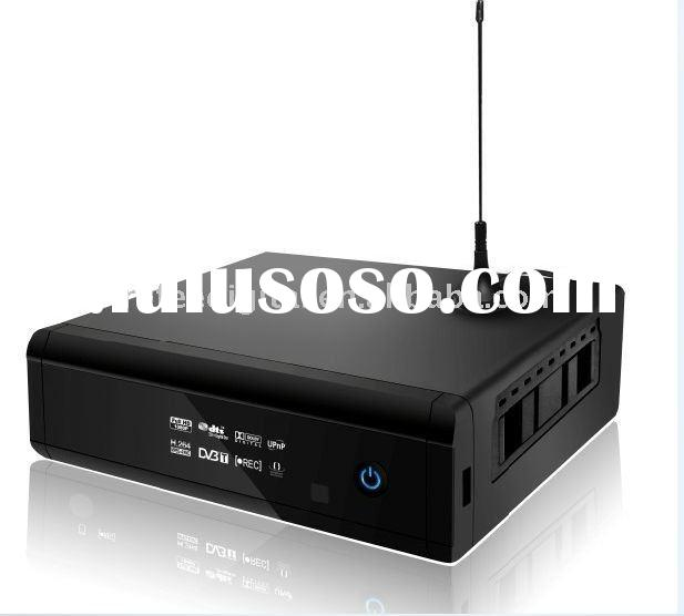 DVB-T dual tuner hdd multimedia player