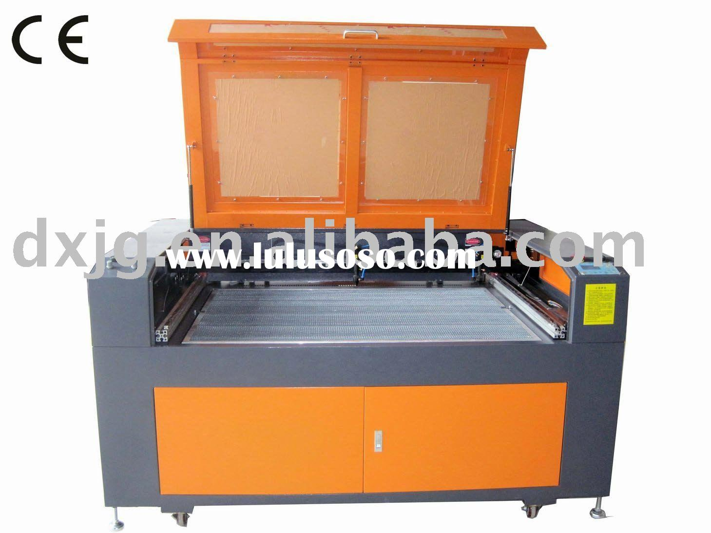DX-1290S Laser cutting Machine with two laser heads