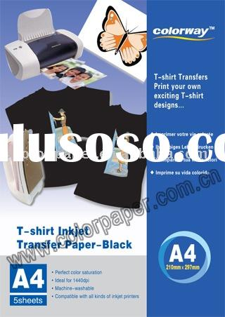 Dark T-shirt heat transfer paper