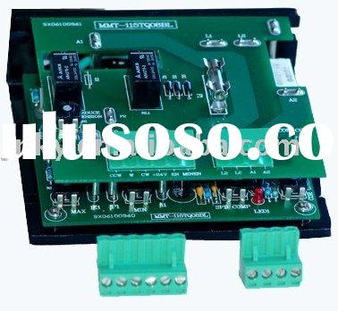 Dc motor speed controller/silicon controlled motor drive