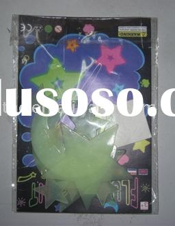 Decoration glow in the dark sticker