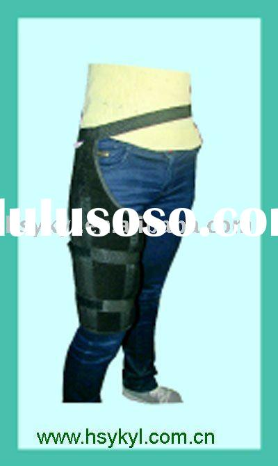 Deluxe hip and thigh fixation support belt