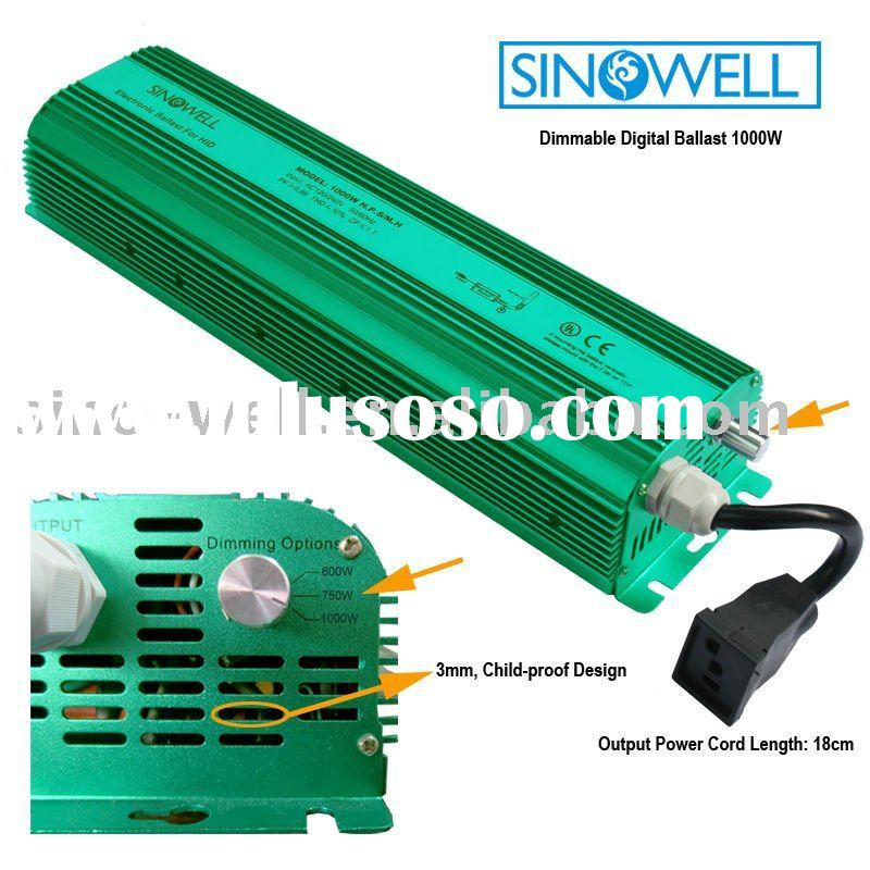 Digital Ballast 1000 Watt Dimmable
