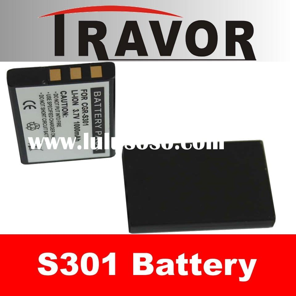 Digital Camera and Camcorder Battery Pack for PANASONIC CGA--S301