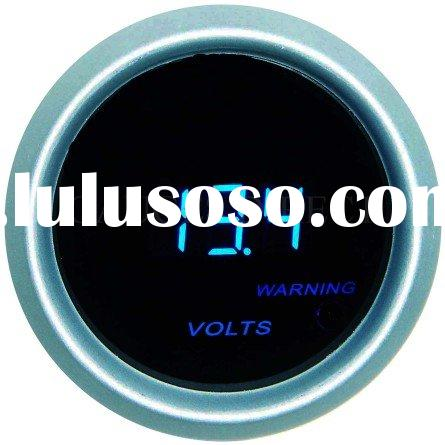 Digital Voltmeter Gauge (auto meter, auto part)