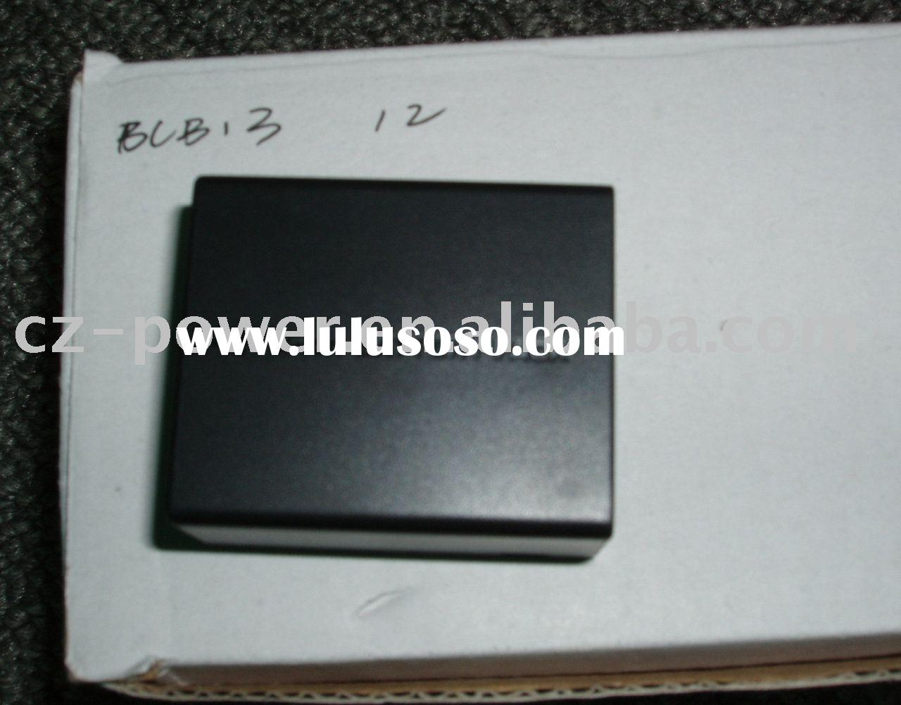 Digital camcorder battery DMW-BLB13 with good quality and low price