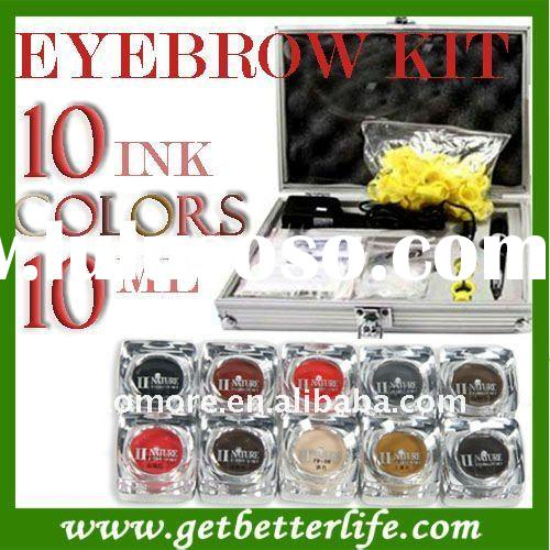 Digital permanent makeup kit Pigment needles&tips