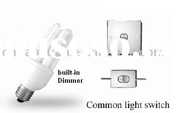 Dimmable Energy saving lamp with Built-in Dimmer