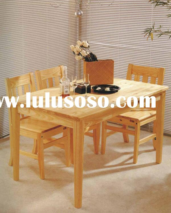 Dining Table and Chairs (1 set=1 table+4 chairs)