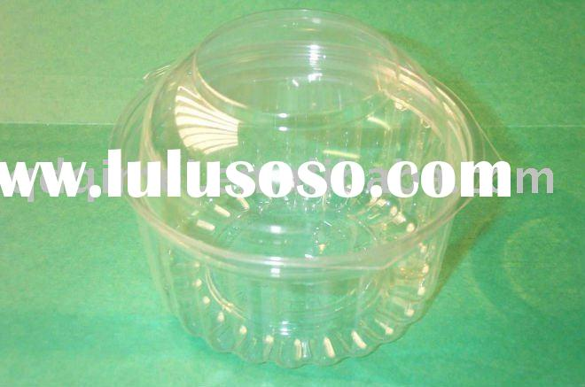 Disposable Round Clear Transparent Noharm Nontoxic Fruit Salad Container
