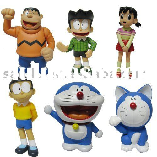 Doraemon action figure,cartoon figure