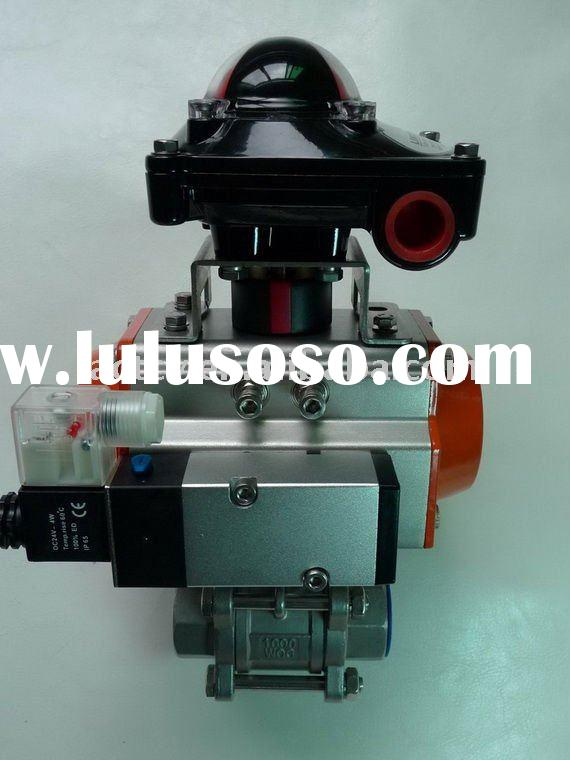 Double Acting Pneumatic Valve/Limit Switch