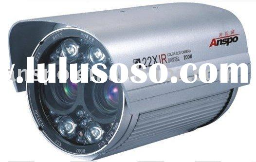 Double CCD Zoom IR Road Camera