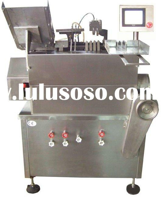 Double Injection Nozzle Ampoule Filling and Sealing Machine
