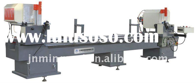 Double Mitre Saw for Aluminum cutting and PVC Profile
