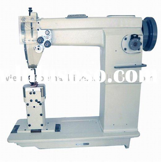 Double Needle Postbed Lockstitch Sewing Machine
