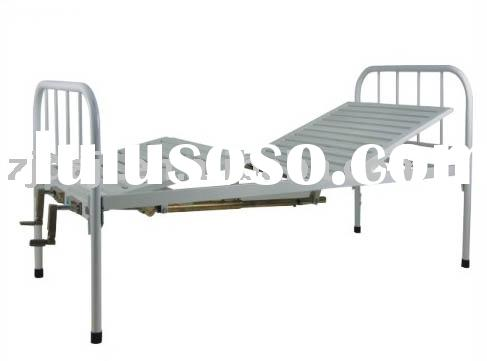 Double-crank hospital bed