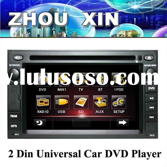 Double din HD Car DVD Player with GPS IPOD TV