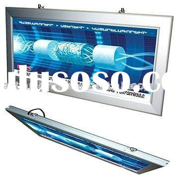Double-sided LED slim light box for indoor