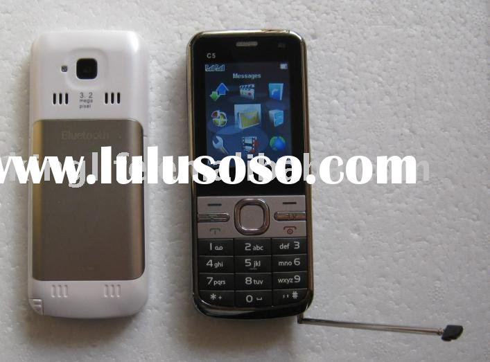 Dual sim cards China C5 TV mobile phone