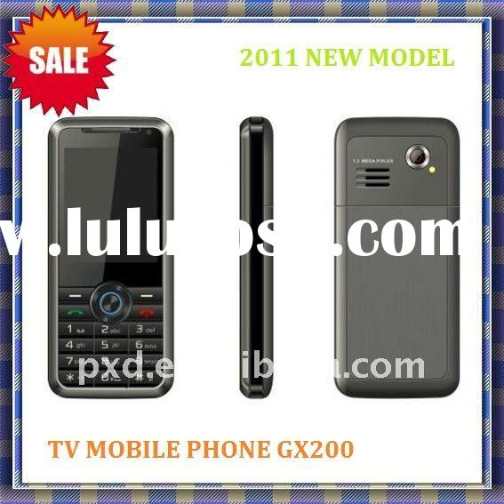 Dual sim mobile phone/tv mobile GX200/2011 new design/smart phone