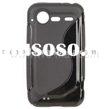 Durable S Streamline TPU Case for HTC Incredible S / 2
