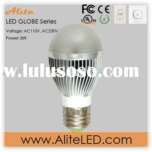 E27 high power globe dimmable led bulbs lamp(3 years warranty)