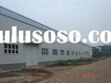 EPS Sandwich Panel Light Steel Structure Prefabricated Workshop
