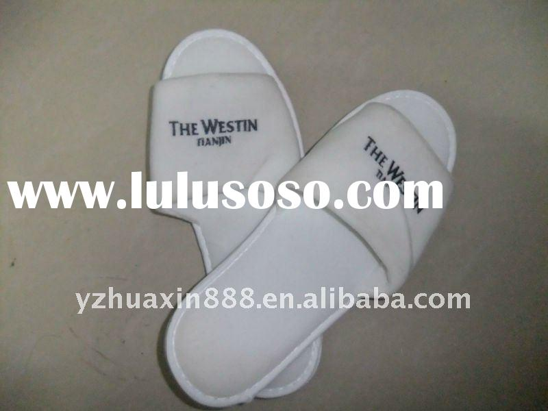 EVA sole disposable hotel Terry slippers,