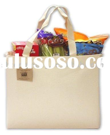 Ecobags Recycled Cotton Canvas Tote Bag&Cotton Bag