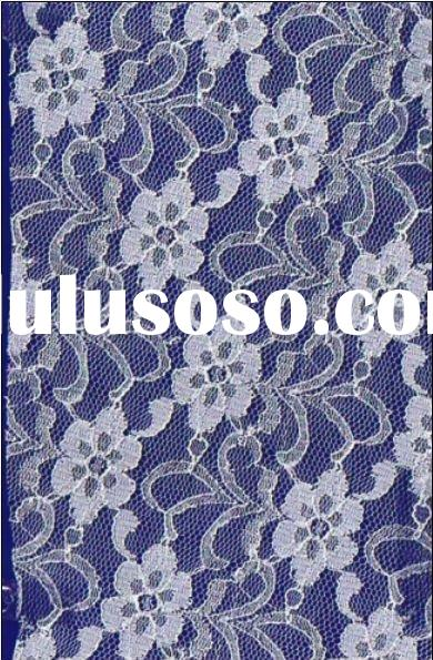 Elastic Lace Fabric M082