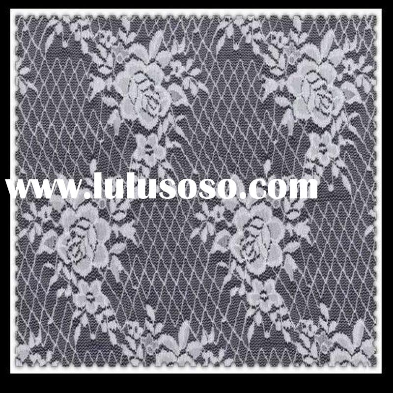 Elastic lace fabric DF1023