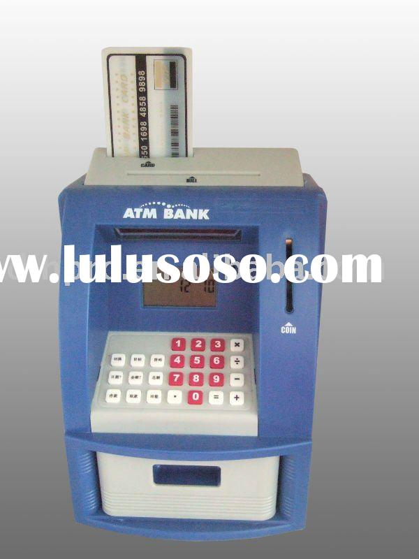 Electronic Digital Mini ATM coin bank with Counting Function