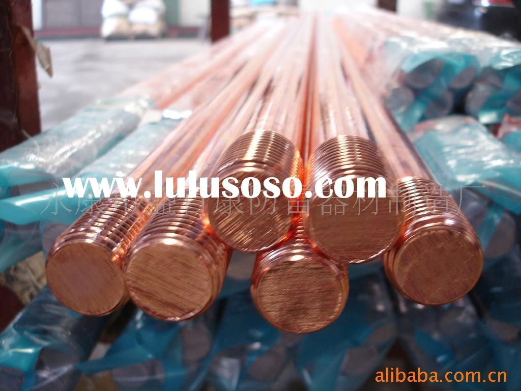 Electroplated Copper Ground Rods