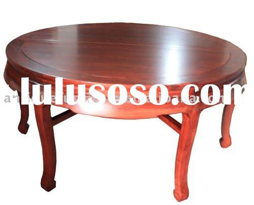 Elm wood Furniture,Round dining Table,Restaurant table furniture