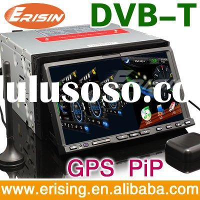 "Erisin HD 7"" 2 Din Touch Screen Car Audio GPS Wince 6.0 128MB DVD DVB-T Radio USB SD"