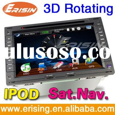 "Erisin Touch Screen HD 7"" 2 Din Auto Video System Special for VW with SD GPS TV PIP USB DVD IPO"