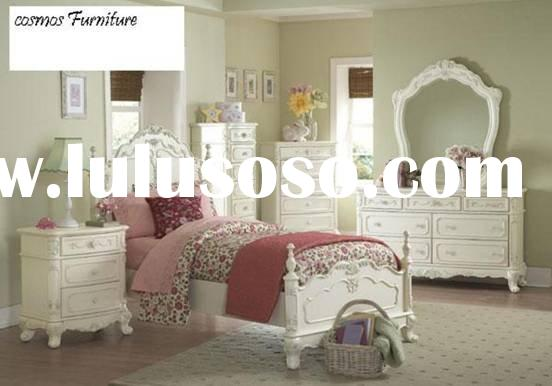 European style/solid wood/Kid bed/JS816 Bed Room Furniture//bed/nightstand/dresser/mirror/tv