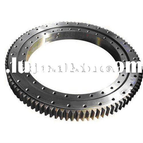 Excavator swing bearing(four point contact ball series )