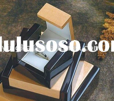 Exquisite designed modern style chinese wooden jewellery box