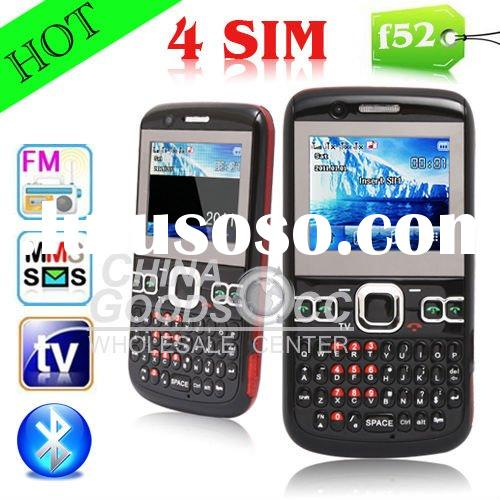 Eyo F52 mobile phone with TV 4 sim scards 3.0MP cam 2 MP 15 mobile phone