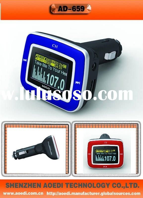 FM transmitter /car mp3 player with 4G flash memory