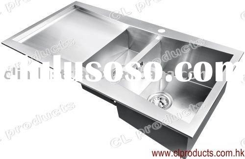 FT100DP Kitchen Sink With Drain Board