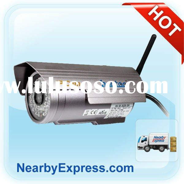 Factory Direct Outdoor Wireless Waterproof IP Security Camera (CMOS M-JPEG Night Vision)