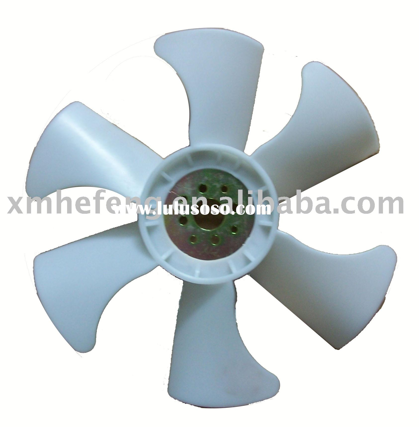 Fan Blade, auto cooling fan blade, ventilation fan blade, engine fan blade, cooling fan