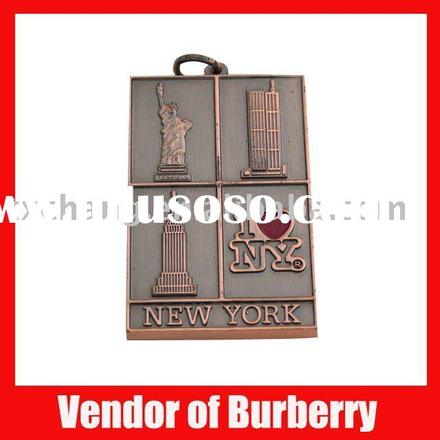 Fashion I love new york metal keychain for promotion
