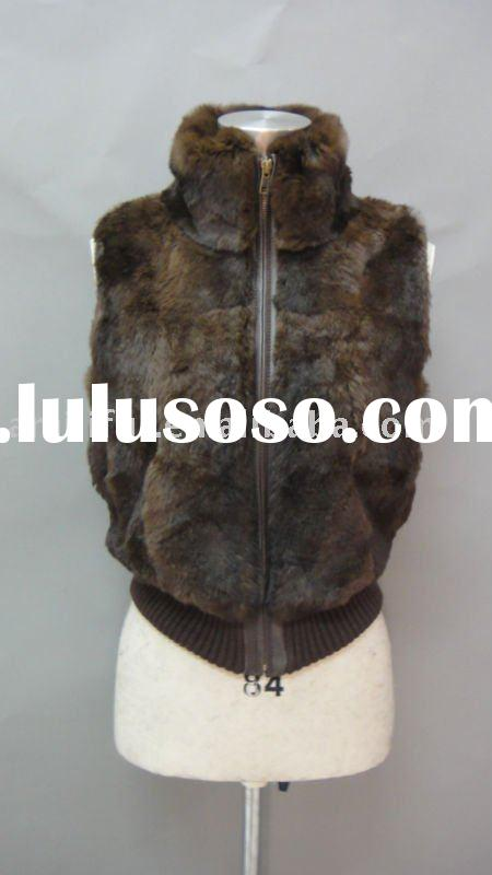 Fashion Lady Fur Gilet/Vest High Quality Fur NEW DESIGN FOR 2011/2012