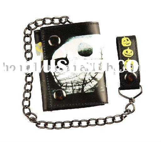 Fashion PU Leather Chain Wallet--for fashionable promotional gifts