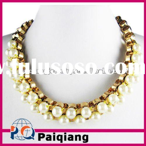 Fashion Pearl Necklace Costume Jewelry